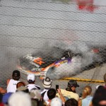 Burnout at Talladega
